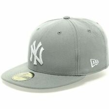 New Era 5950 NEW YORK YANKEES Gray MENS SIZE S