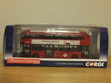 CORGI OOC ARRIVA LONDON WRIGHT NEW ROUTEMASTER FOR BORIS BUS MODEL OM46601 1:76
