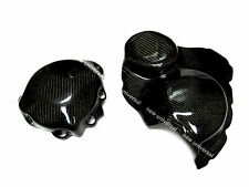 2005-2006 Honda CBR600RR Carbon Fiber Engine Cover & Clutch Cover