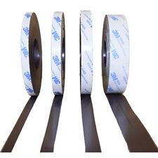 Magnetband für Fliegengitter, selbstklebend, Typ A und B, 1,5mm x 25,4mm - je 5m
