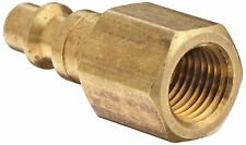 "Dixon Valve & Coupling DCP20B Brass Air Hose Fitting 1/4"" Female"