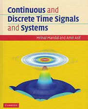 Continuous and Discrete Time Signals and Systems with CD-ROM by Mrinal...