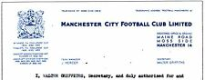 FRANCIS LEE - BOLTON TRANSFER to MANCHESTER CITY AGREEMENT LETTER VGC