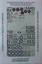 Xtradecal 1/72 X72070  Fairey Gannet AS Mk 1, COD Mk4 + T Mk 5 decal set