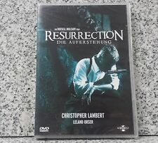 Resurrection Die Auferstehung Christopher Lambert  USK 16 DVD NEU und OVP #3
