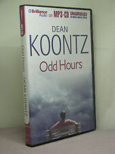 signed by author, Odd Thomas 4: Odd Hours by Dean Koontz, unabridged MP3 disc