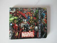 Captain America Civil War Marvel Comics Heroes Buckle Down Bifold Wallet NEW