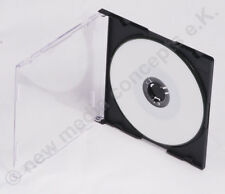 25 JEWEL cases PER MINI CD VERGINI Custodia per single CD-R 8 cm