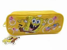 SpongeBob Squarpants Pencil Pouch - Zippered Pencil Pen Crayon Case
