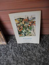 Cezanne, Landscapes, The Little Library of Art, Methuen