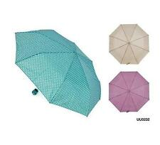 KS Brands UU0232 Tiny Spot Pattern Supermini Umbrella With Matching Sleeve - New