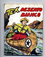 TEX # DESERTO BIANCO # N.76 - Febbraio 1967 # Araldo # Lire 200