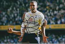 Aaron LENNON SIGNED Autograph 12x8 Photo AFTAL COA Tottenham SPURS RARE GENUINE