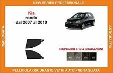 pellicola oscurante vetri pre-tagliata Kia rondo dal 2007-2010 kit anteriore