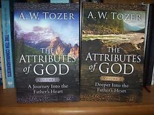 THE ATTRIBUTES OF GOD - A. W. TOZER  Volume 1&2 (PB) With Study Guides inclued