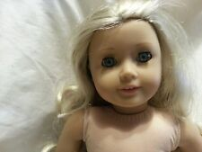 American Girl DOLL Caroline Abbott Doll  Blue Eyes LONG Blond HAIR Retired Nude