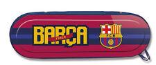 FC Barcelona,Fanshop Mäppchen aus Aluminium new Fanshop Champions League Neu