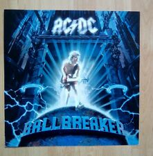 """AC/DC -Promotional 12"""" x 12"""" Card (Flat) BALLBREAKER (ideal for framing)"""