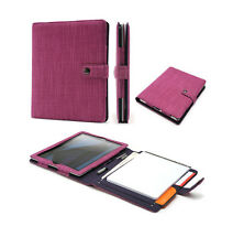 Booqpad Agenda Case for iPad 2/3/4 Purple NEW