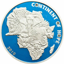Ivory Coast 2010 1000 Franc Continent of Hope Afryka