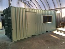 Work Shed – site office 20' General Purpose Refurbished container