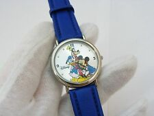 MICKEY AND FRIENDS, Classic Round Dial, DISNEY MEN'S WATCH,1395, L@@K