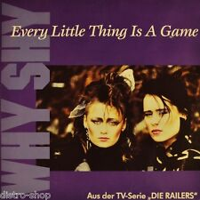 "7"" WHY SHY Every Little Thing Is A Game OST Die Railers (ZDF-Serie) POLYDOR 1992"