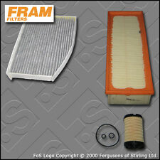 SERVICE KIT for SKODA OCTAVIA (1Z) 1.6 TDI FRAM OIL AIR CABIN FILTER (2009-2013)