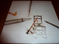 PAUL McCARTNEY  PIPES OF PEACE 1983  LP  with LYRICS SLEEVE