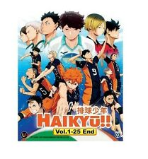 Anime (Volleyball) DVD Haikyuu ( Haikyu!! ) Vol.1-25 End (Eng SUB)+ Free 1 Anime