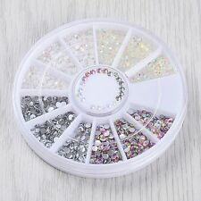 Decoration 3D Rhinestones Manicure Wheel Nail Art Tips Acrylic Glitters