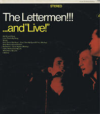 THE LETTERMEN...and live Vinyl LP 33 Capitol Pop Music Record VG+ Stereo 1967