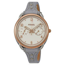 Fossil Tailor White Dial Ladies Watch ES4048