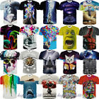 2016 New 3D Animal Funny Printed Women Men T Shirts Short Sleeve Casual Tee Top