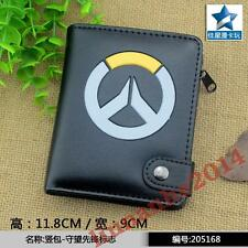 Cool ! Games Overwatch Coin Pocket Purse/Wallet Black
