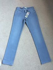 Women's Levis Grey Bold Curve Straight Stretch Jeans W26 L32 Brand New (510)