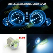 10x Ice Blue 5050 SMD LED Instrument Panel BA9S 57 Light Bulb 1895 For Pontiac