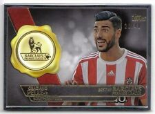 Graziano Pelle 2015 Topps Premier Gold Silver Framed Best of Barclays BB14 28/40