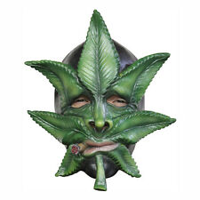 Weed Marijuana Leaf Adult Latex Mask Ghoulish Productions 26367