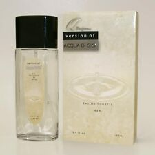 Q Perfumes version of Acqua Di Gio by Giorgio Armani Men's Cologne 3.4 oz NIB