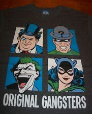 BATMAN VILLAINS ORIGINAL GANGSTERS JOKER RIDDLER Dc Comics T-Shirt 3XL XXXL NEW