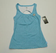 Everlast Womens Size Small Embossed Blue Mist Tankwith Shelf Bra New