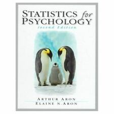 Statistics for Psychology (2nd Edition)