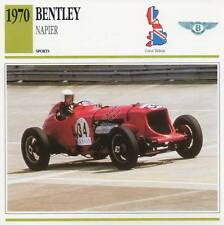 1970 BENTLEY NAPIER Replica Sports Classic Car Photo/Info Maxi Card