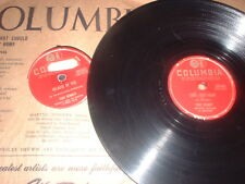 78RPM 2 Columbia by Tony Bennett, Cry Anymore, Because U, Young, Cold Heart wV