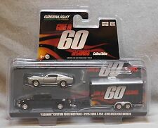 Greenlight 1:64 Gone In 60 Seconds Hitch & Tow Trailer Set - Ford F-150/Mustang