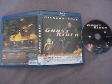 Ghost Rider de Mark Steven Johnson avec Nicolas Cage, Blu-Ray, SF/Action