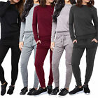 Womens Ladies New Loungewear Tracksuit Set Sweatshirt Joggers Pants Jumper Suit