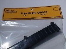 N SCALE Micro-Engineering #80-170 N 80' PLATE GIRDER 4 EACH BIGDISCOUNTTRAINS