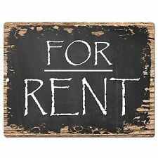 PP0415 For RENT Plate Sign Cafe Store Shop Restaurant Office Apartment Rent Sign